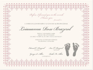 Footprints Baby Certificates | Baby | Baby Dedication In Editable Birth Certificate Template