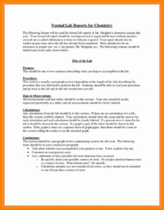 Formal-Lab-Report-Example-Best-5-Formal-Lab-Write-Up inside Formal Lab Report Template