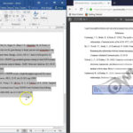 Formatting A References Page In Apa 6Th Edition Format (Current For 2018  2019) ~ Updated In Word Apa Template 6Th Edition
