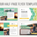 Four Half-Page Flyer Templatesjoanna Haecker On with regard to Half Page Brochure Template