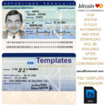 France Id Template In French Id Card Template