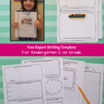 Free 1St Grade Research Paper Writing Template Regarding Report Writing Template Free