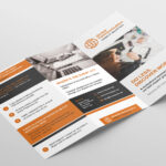 Free 3 Fold Brochure Template For Photoshop & Illustrator In Ai Brochure Templates Free Download