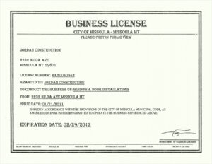 Free 6 License Certificate Template Besttemplatess123 With Certificate Of License Template