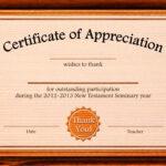Free Appreciation Certificate Templates Supplier Contract With Certificate Of Appreciation Template Doc