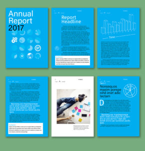 Free Artist-Made Templates Now In Indesign | Creative Cloud with regard to Free Annual Report Template Indesign