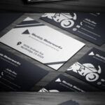 Free Automotive Business Card Template On Student Show Pertaining To Automotive Business Card Templates