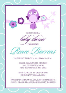 Free Baby Shower Invitation Templates Microsoft Word (9 For Free Baby Shower Invitation Templates Microsoft Word
