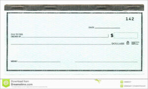 Free Big Check Template Download Unique Pics For with Customizable Blank Check Template