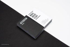 Free Black And White Business Card Templates | Rockdesign in Black And White Business Cards Templates Free