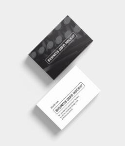 Free Black & White Business Card Mockup Psd Templates – Good for Black And White Business Cards Templates Free