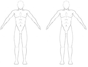 Free Blank Body, Download Free Clip Art, Free Clip Art On with regard to Blank Body Map Template
