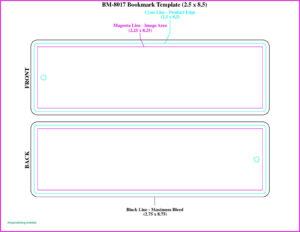 Free Blank Bookmark Templates To Print Elegant Wonderful regarding Free Blank Bookmark Templates To Print