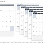 Free Blank Calendar Templates – Smartsheet In Blank One Month Calendar Template