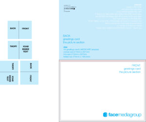 Free Blank Greetings Card Artwork Templates For Download Inside Small Greeting Card Template