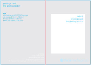 Free Blank Greetings Card Artwork Templates For Download intended for Foldable Card Template Word
