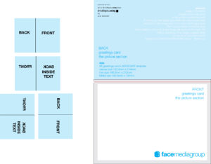 Free Blank Greetings Card Artwork Templates For Download intended for Free Blank Greeting Card Templates For Word