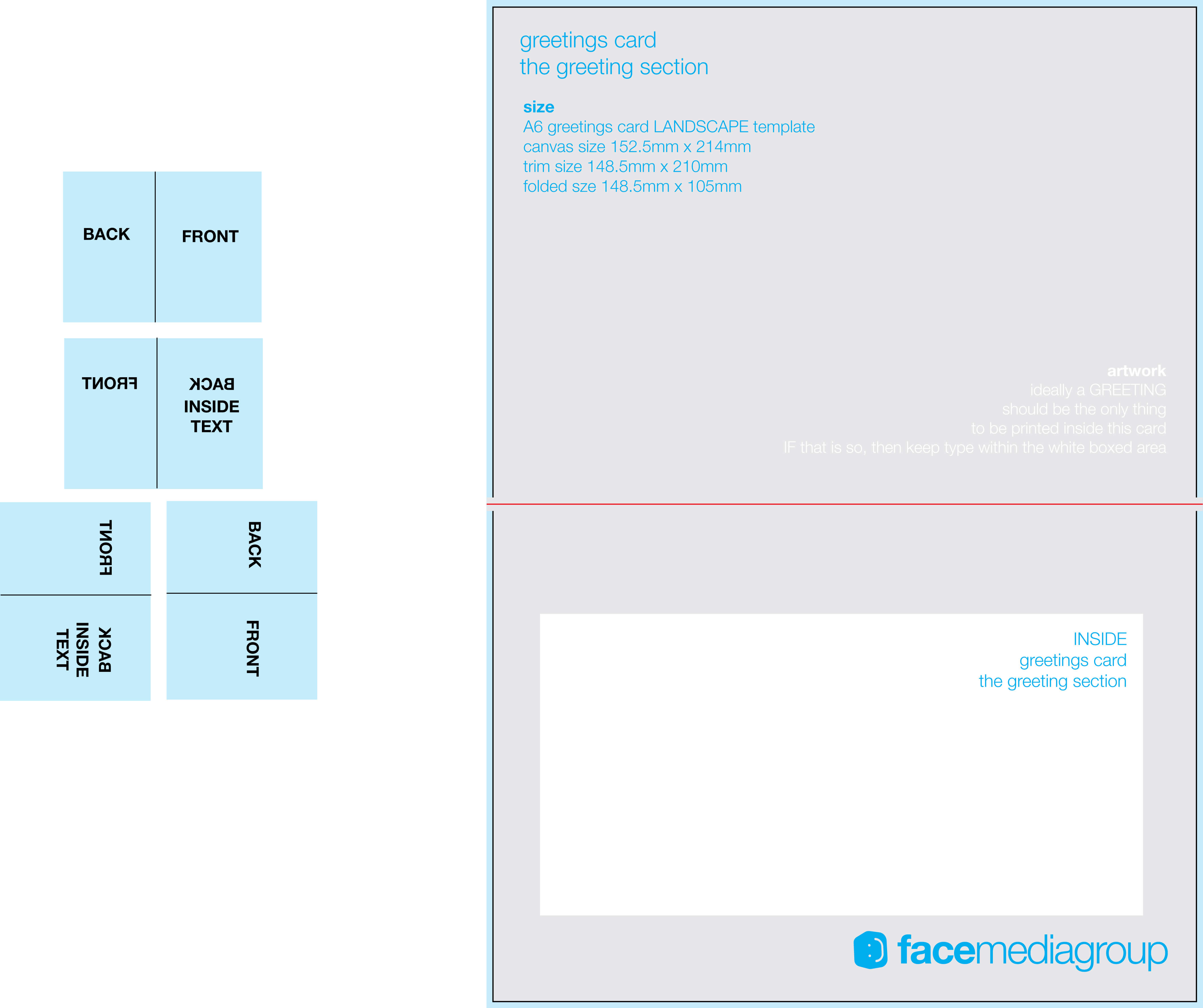 Free Blank Greetings Card Artwork Templates For Download Throughout Foldable Card Template Word