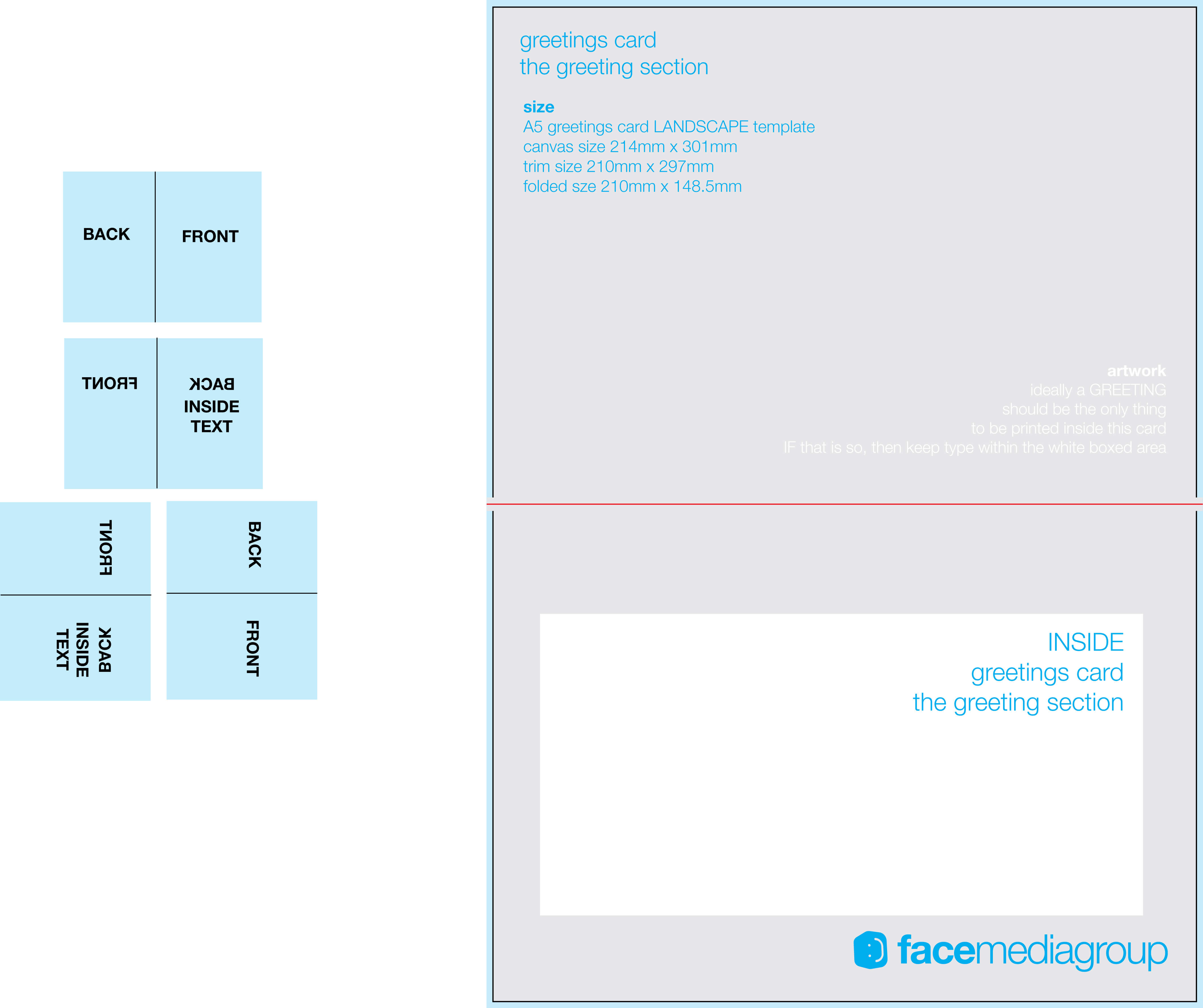 Free Blank Greetings Card Artwork Templates For Download With 4X6 Photo Card Template Free