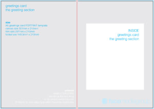 Free Blank Greetings Card Artwork Templates For Download With Regard To Small Greeting Card Template