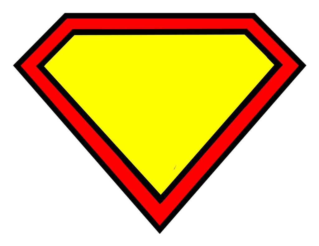 Free Blank Superman Logo, Download Free Clip Art, Free Clip Within Blank Superman Logo Template