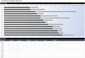 Free Blank Timeline Templates   Smartsheet inside Blank Scheme Of Work Template