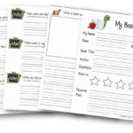 Free Book Report Template | 123 Homeschool 4 Me With Sandwich Book Report Printable Template