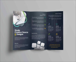 Free Brochure Templates For Word Letter Sample Blank Tri with Free Brochure Templates For Word 2010