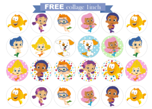 Free Bubble Guppies Printable Invitations Within Bubble Guppies Birthday Banner Template