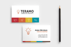 Free Business Card Template In Psd, Ai & Vector – Brandpacks in Professional Business Card Templates Free Download