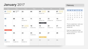 Free Calendar 2017 Template For Powerpoint with Powerpoint Calendar Template 2015