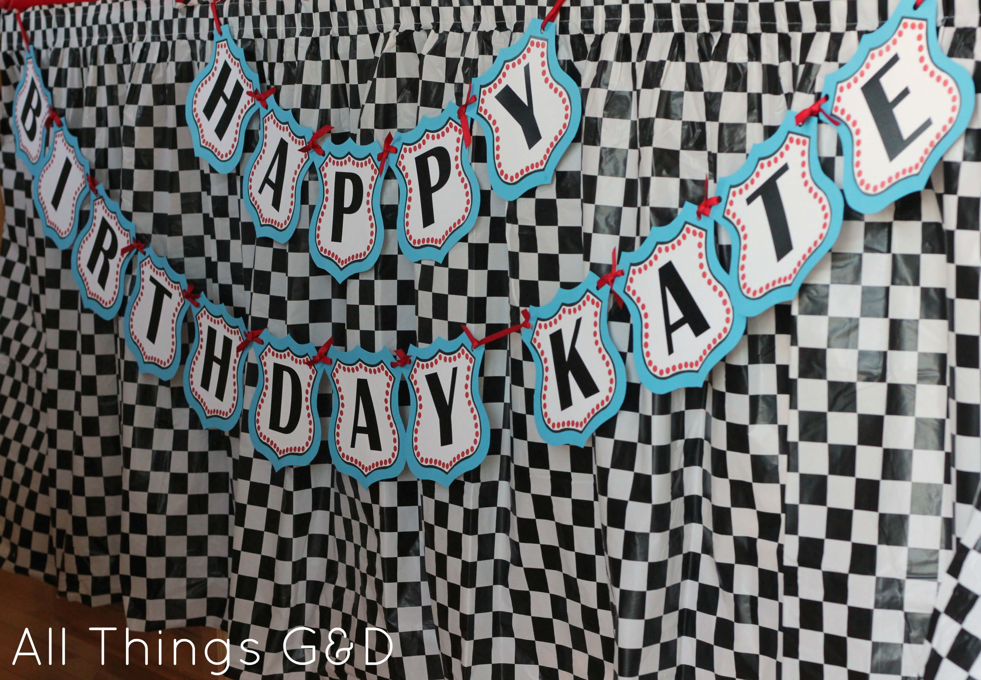 Free Cars Birthday Party Printables Intended For Cars Birthday Banner Template