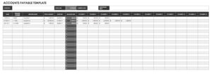 Free Cash Flow Statement Templates | Smartsheet in Liquidity Report Template