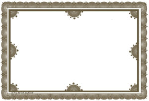 Free Certificate Borders To Download for Certificate Border Design Templates