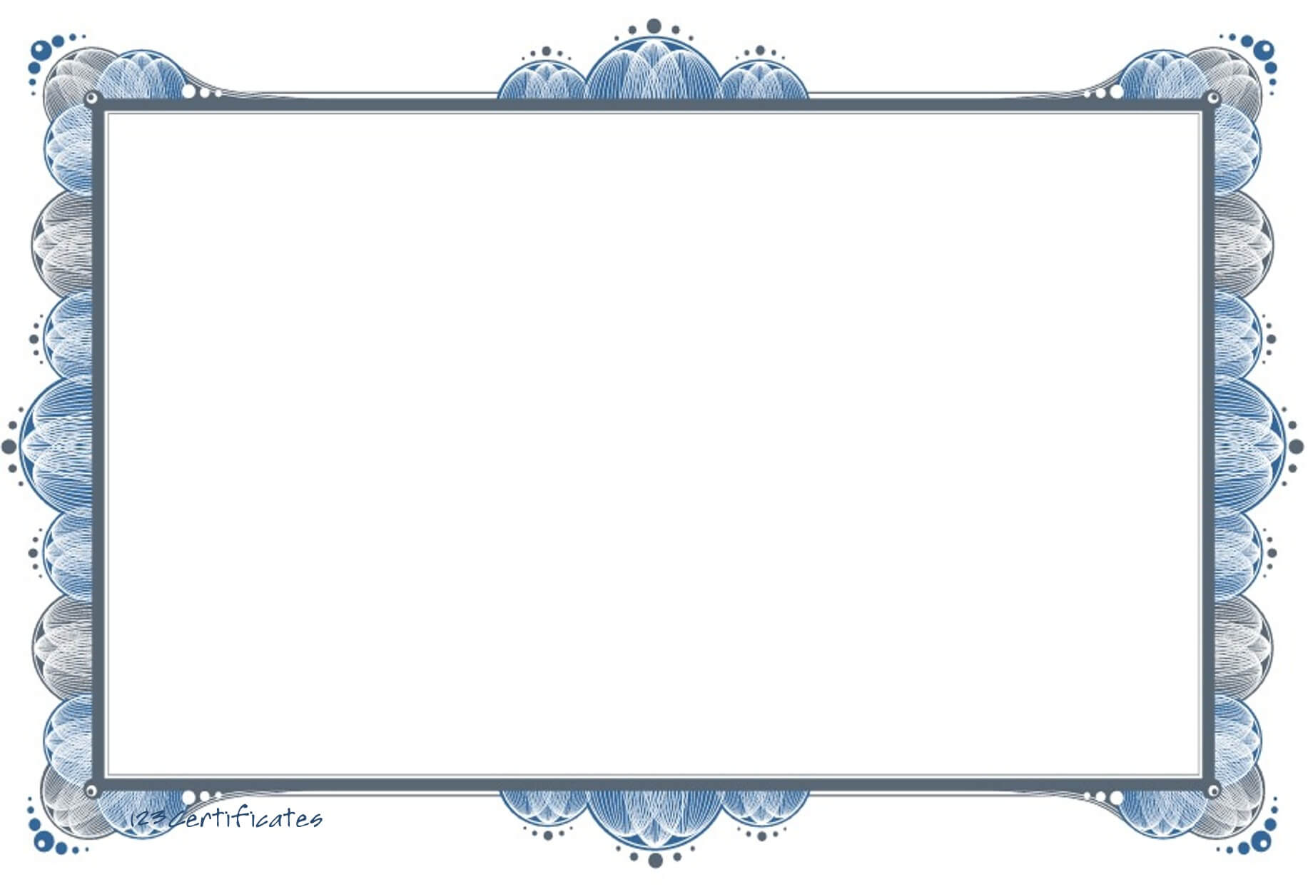 Free Certificate Borders To Download Intended For Landscape Certificate Templates