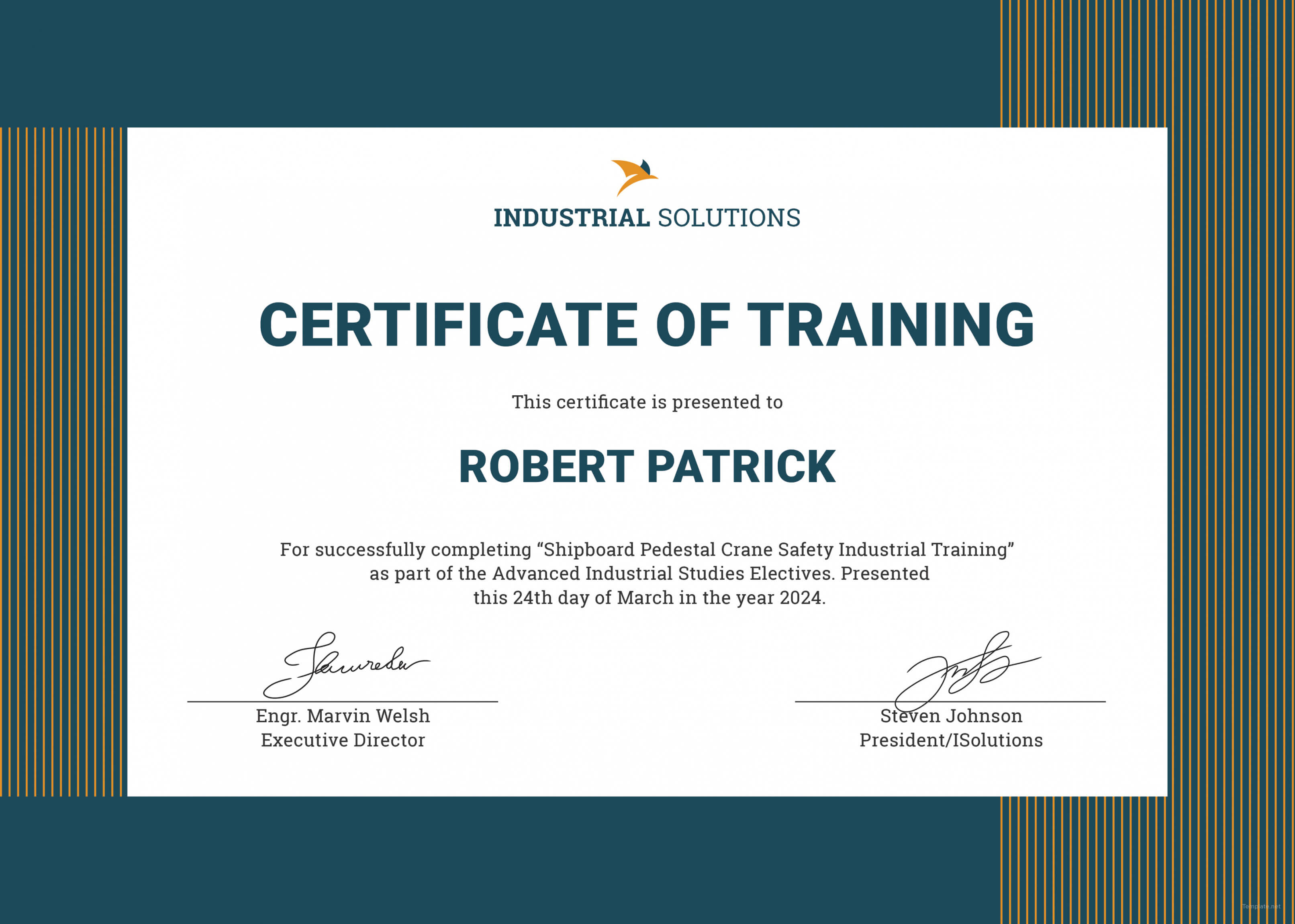 Free Certificate Template Training Filename Elsik Blue With Fall Protection Certification Template