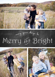 Free Chalkboard Christmas Card Templates » Chelsea Peterson within Free Christmas Card Templates For Photographers