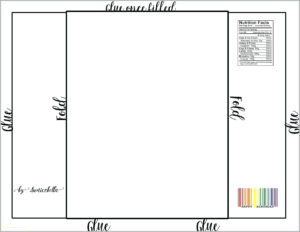 Free Chocolate Wrapper Template – Verypage.co with Candy Bar Wrapper Template For Word