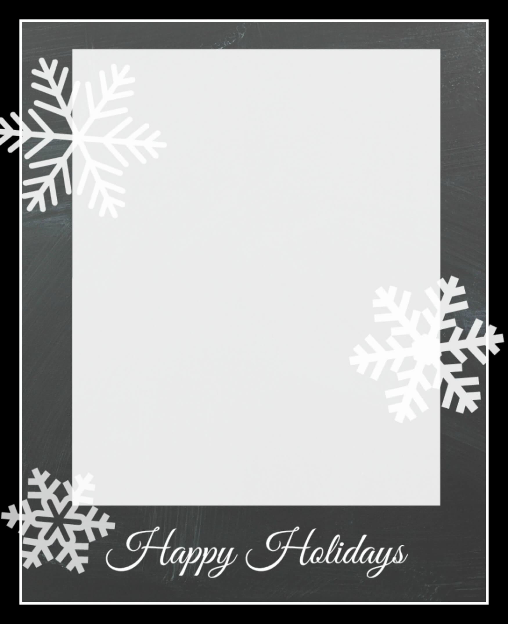 Free Christmas Card Templates - Crazy Little Projects Intended For Happy Holidays Card Template