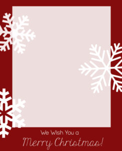 Free Christmas Card Templates – Crazy Little Projects regarding Happy Holidays Card Template