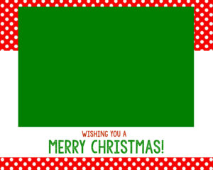 Free Christmas Card Templates – Crazy Little Projects within Christmas Note Card Templates