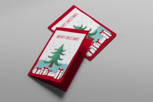 Free Christmas Card Templates For Photoshop & Illustrator inside Free Christmas Card Templates For Photoshop