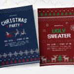 Free Christmas Flyer, Poster & Instagram Templates – Psd With Christmas Brochure Templates Free
