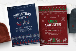 Free Christmas Flyer, Poster & Instagram Templates – Psd with Christmas Brochure Templates Free