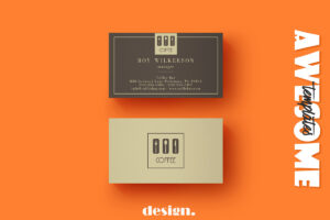 Free Coffee Business Card Template – Creativetacos inside Coffee Business Card Template Free