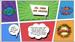 Free Comic Book Powerpoint Template For Download | Slidebazaar with regard to Comic Powerpoint Template