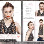 Free Comp Card Template Brochure Templates For Mac Photoshop With Comp Card Template Psd