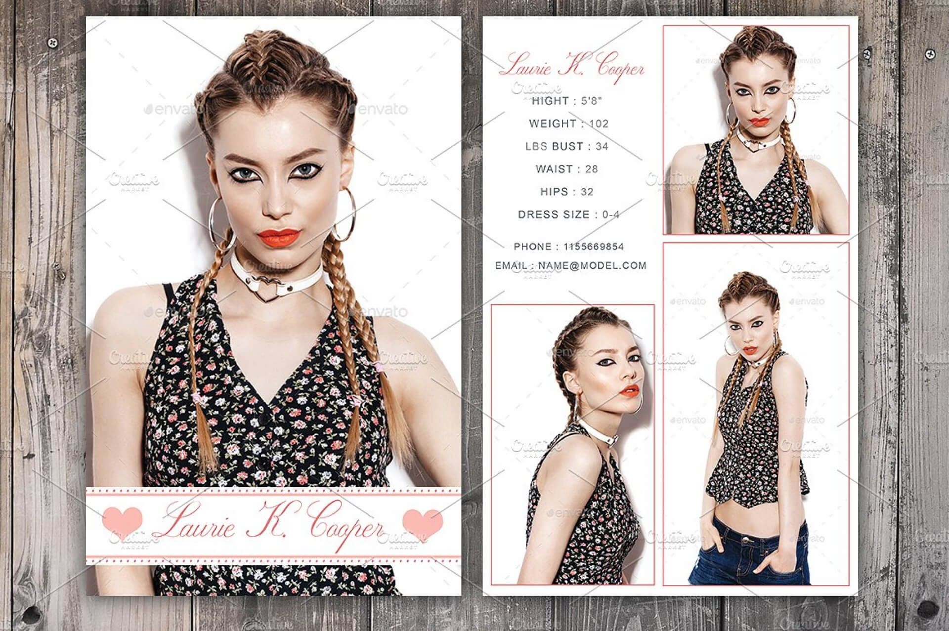 Free Comp Card Template Brochure Templates For Mac Photoshop Within Free Comp Card Template