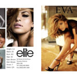 Free Comp Card Templates Photoshop With Template Plus Model With Regard To Free Comp Card Template