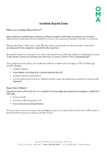 Free Construction Job Site Incident Report Form Templates At throughout Construction Accident Report Template